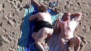 Beach Mature plumper.