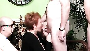 When her Daughter had a Party Granny Stole the Show