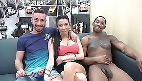 Cuckold Spanish beauty interracial adventure