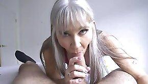 Hot Granny Leilani Lei Rewards Stud For Hard Work