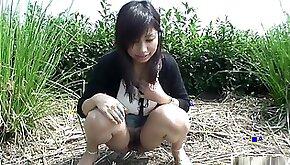 Nasty Karin Asahi is fingered on the road
