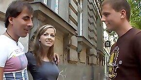 Abigaile Johnson Sex for cash turns shy girl into a slut