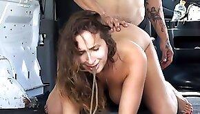 Rough vaginal sex brings busty stunner Ashley Adams total ecstasy