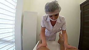 Foot massage had hookup with a massagist after a blowjob finished in her mouth