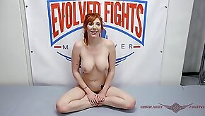 A mixed erotic wrestling match with sex