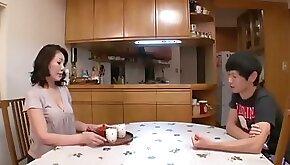 Virgin Asian Nerd Licks Big Bottom Of Japanese MILF