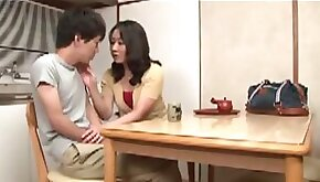 Japanese Mature Needs A Fuck from Stepson