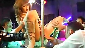 Horny Japanese slut Rei Ganaha in Amazing Big Tits Striptease JAV scene