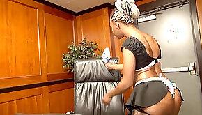 Big arse maid Lexi Amor gets drilled hard