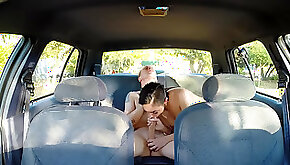 Selena Santana fucked by a taxi driver