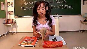 Petite asian teen amazing porn video