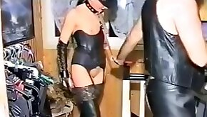 BDSM clip with chicks fucked by hard