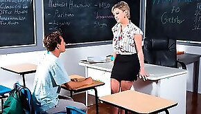Awesome busty teacher Dee Williams fucked by a muscled student