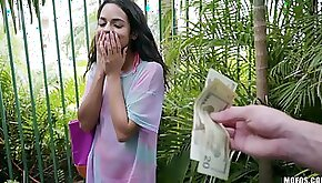 Girl receives good cash to suck my dick and get laid on cam