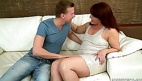 Red Mary has an attraction for younger men and her sexual hunger is insane