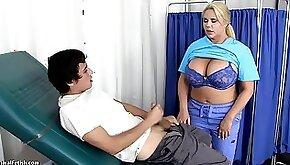 Karen Fisher Hot School Nurse Cures Blue Balls