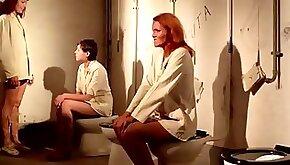 Ilsa the Wicked Warden Movie Scene Femdom Bootlicking Toilet Slave
