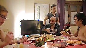 Hot family fantasy porn clip with amateur women