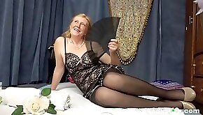 Ginger granny makes monster cock rockhard