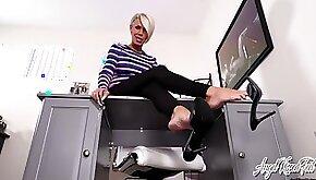 Stroking Under My Dangling Heels Nikki Ashton