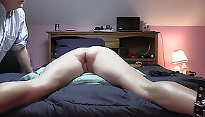 Bed spank me