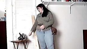 BBW striptease worker