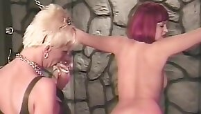 Extreme punishment for the hot horny girl