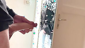 Hidden cam caught by my neighbor jerking me off