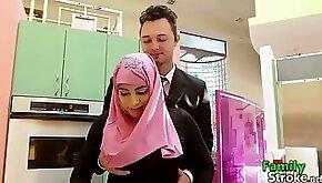 Arab daughter got cock