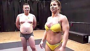 Sheena wrestling thin man